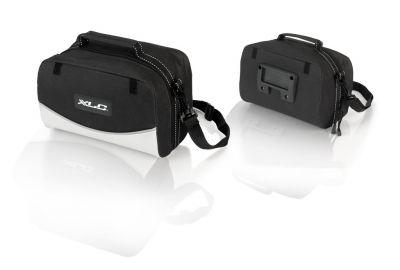 Sacoche de guidon XLC Traveller BA-S66 6 L Noir / Anthracite