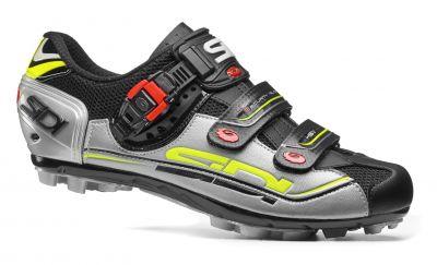 Chaussures Sidi EAGLE 7 Noir/Argent/Jaune fluo