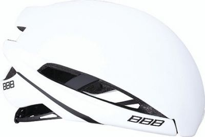 Coque pour casque BBB Icarus Snap-on Aéro Cover Blanc mat M - BHE-77