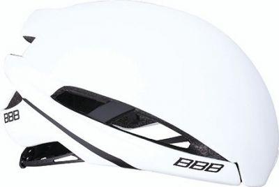 Coque pour casque BBB Icarus Snap-on Aéro Cover Blanc mat M - BHE-77