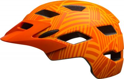 Casque Bell SIDETRACK YOUTH Mat Tang/Orange Seeker