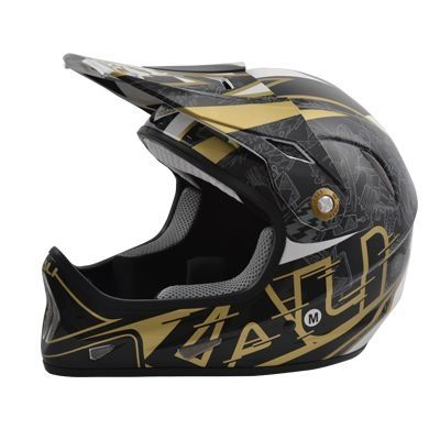 Casque Kali Protectives Avatar X Carbon Galaxy Noir/Or