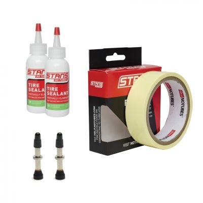 Kit de conversion tubeless Stan's NoTubes 30 mm Valves 35 mm