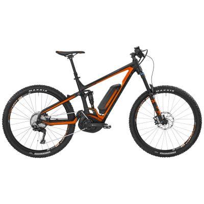 VTT électrique Bergamont E-Trailster 8.0 Noir/Orange