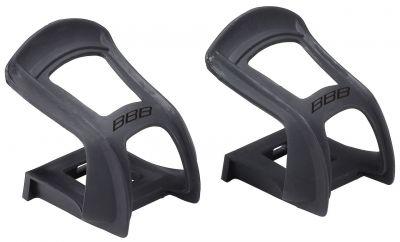 Cale-pieds butées BBB NoseTight M Noir - BPD-95