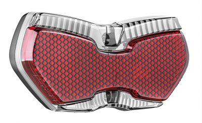 Éclairage AR B+M Toplight View Brake Plus Dynamo sur porte-bagages