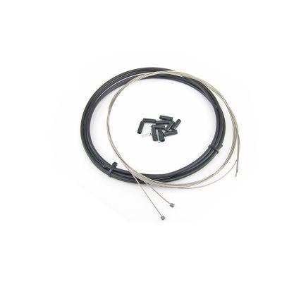 Kit câble et gaine de dérailleur WTP Noir