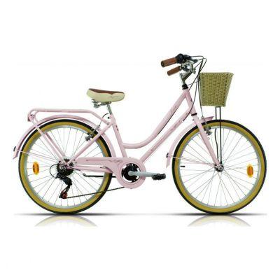 Vélo Urbain Enfant Megamo Trivia 24'' Rose 2020