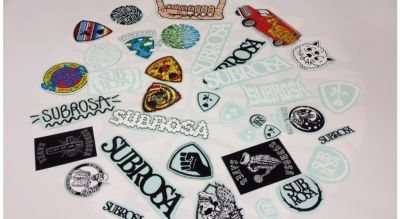 Pack de stickers SUBROSA