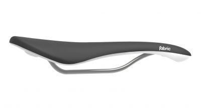 Selle Fabric Scoop Shallow Elite 142 mm Noir/Blanc