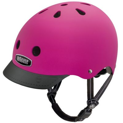 Casque Nutcase Supersolid Street Fuchia
