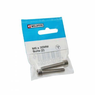 Vis Weldtite M6 x 35 mm (paire)