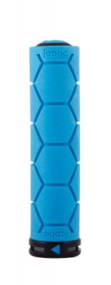 Poignées Fabric Silicon Lock On Grips Bleu