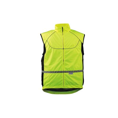 Gilet vélo Wowow Sans manches fluo Hot160 taille S