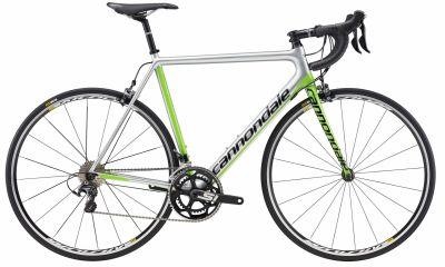 Vélo route Cannondale SuperSix EVO Ultegra Replica Argent/Vert 2017