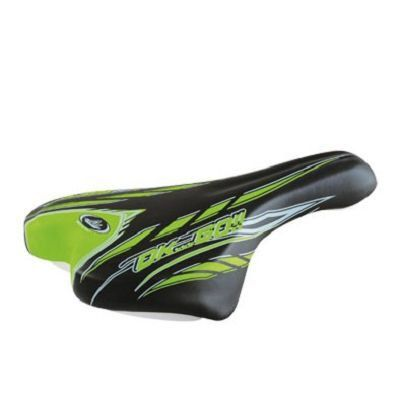 Selle Junior Monte Grappa 998 OK Go 20/24 pouces Sans rails Noir/Vert
