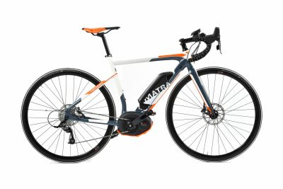Vélo de route électrique Matra I-Speed Road D11 Blanc/Orange