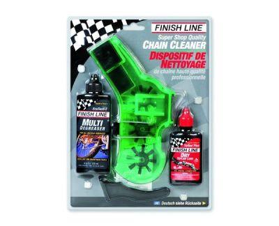 Kit d'entretien pour chaine Finish Line Shop Quality Chain Cleaner Kit