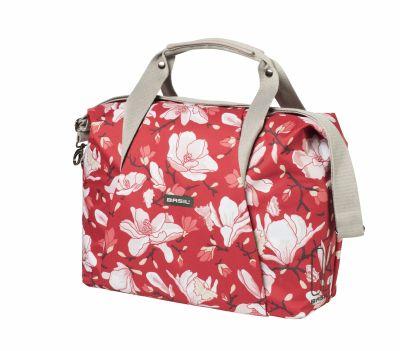 Sac BASIL Magnolia Fix.rapide Hook-On sur porte-bagages avant-arrière + housse imperméable 18 L Popp