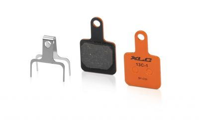 Plaquettes de frein XLC BP-O36 Tektro Volans / Auriga E-Sub / Sub Organiques