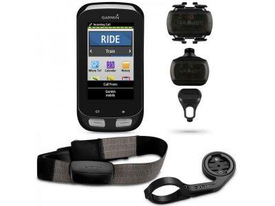 Compteur de vélo GPS Garmin Edge 1000 Performer (HRM + Capteur de vitesse/cadence)
