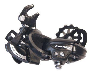 Dérailleur arrière Shimano Tourney RDTY500 6/7V avec adapt. Chape longue Noir