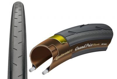 Pneu Continental Grand Prix Classic 700 x 25C TS Noir/Beige