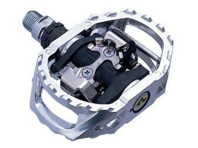 Pédales automatiques Shimano SPD PD-M545 Argent