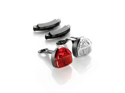 Éclairage avant et arrière Reelight SL120 ReePower Clignotant + Feu parking Induction sans piles