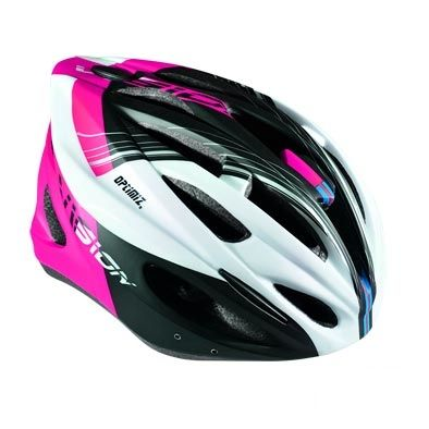 Casque Optimiz O-300 Vision Rose/Blanc/Noir Mat