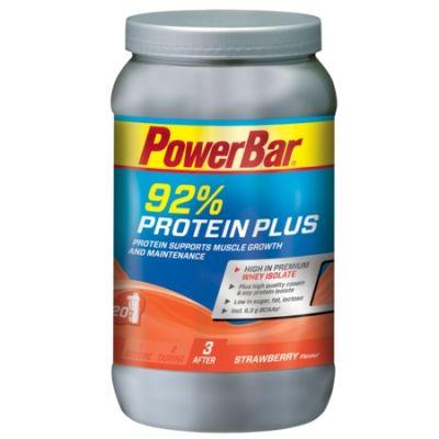 Boisson de récupération PowerBar ProteinPlus 92% Fraise 600 gr