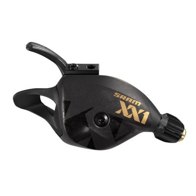 Manette SRAM Trigger XX1 Eagle 12V à collier Or