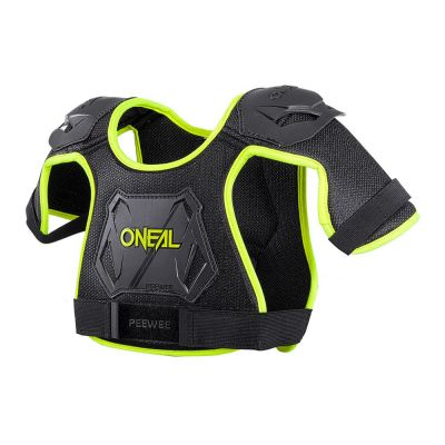 Protection pare-pierre O'Neal Peewee Chest Guard enfant Neon Jaune