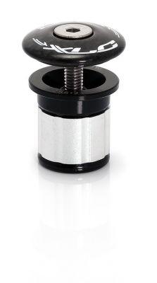 """Bouchon A-Head XLC AP-C01 Pour pivot de fourche carbone 1.1/8""""Diam. 23-24 mm Noir"""