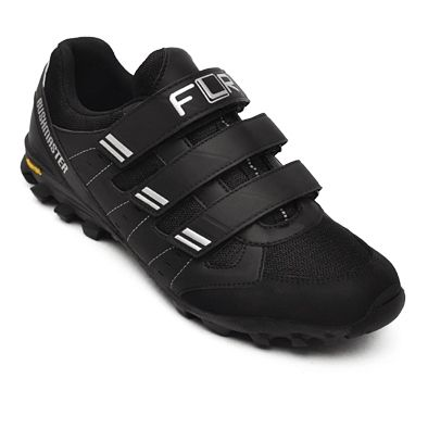 Chaussures Cyclo/Touring FLR Bushmaster Noir/Argent