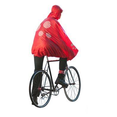 Poncho de protection pluie SPAD De Ville Fulap Rouge