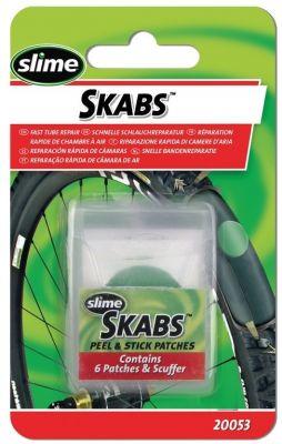 Pièces de réparation autocollantes Slime Skabs D. 25 mm x6
