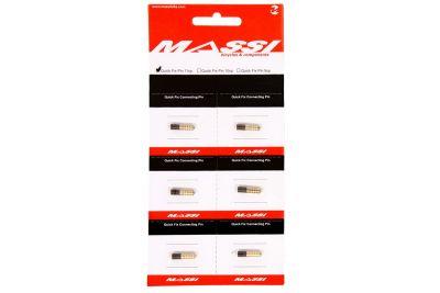 Axe de maillon Massi Quick Fix Chain Pin 9V (6 pièces)
