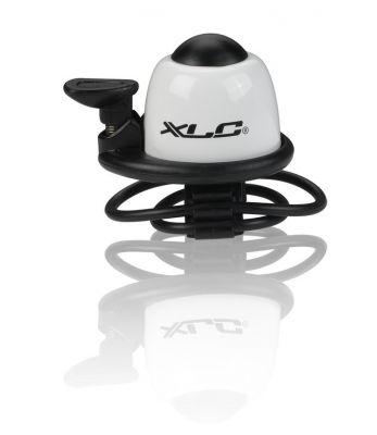 Mini sonnette XLC DD-M07 Sport Fix. sangle Alu Blanc
