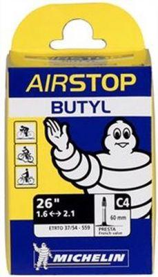 Chambre à air Michelin 26 x 1.60/2.10 C4 Presta 40 mm