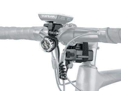 Éclairage avant vélo Topeak WhiteLite HP Mega 420 + Supports