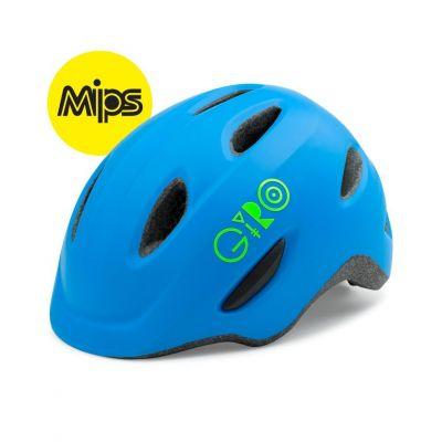 Casque enfant Giro SCAMP MIPS Bleu mat/Vert