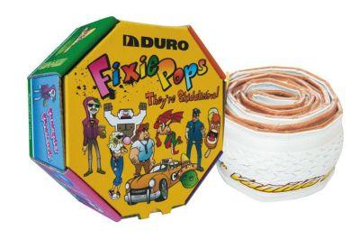 Pneu Duro Fixie Pops 700 x 24C TS Vanille/Blanc