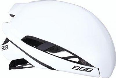 Coque pour casque BBB Icarus Snap-on Aéro Cover Blanc brillant - BHE-77