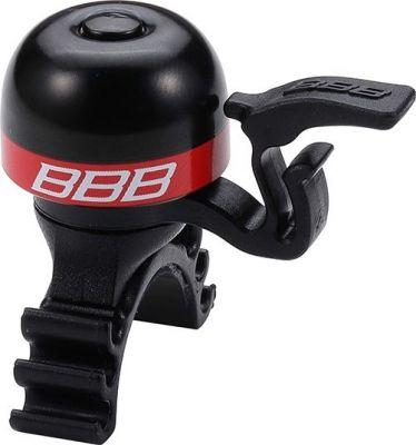 Sonnette légère BBB laiton MiniFit Noir/Rouge - BBB-16