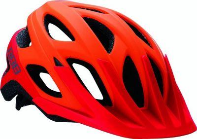 Casque BBB Varallo orange mat & rouge - BHE-67