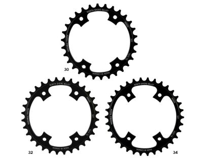 Plateau NSB Narrow Wide 30 dents comp. XTR 96BCD Noir
