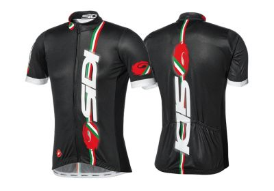 Maillot manches courtes Sidi by Castelli Dino Noir