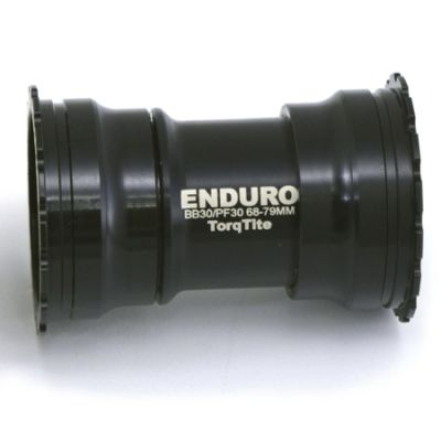 Boitier de pédalier Enduro Bearings TorqTite PF30 BKS-0131 30 mm A/C SS Noir
