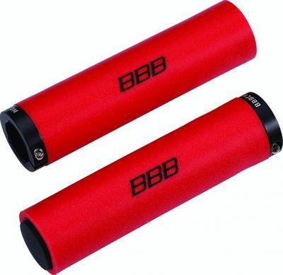 Poignées BBB StickyFix 130 mm Rouge - BHG-35